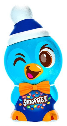 Nestle Smarties Iconic Penguin With Bow Tie image