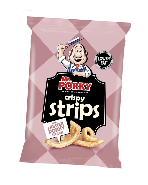 Mr Porky Crispy Strips 40g (20 pack)