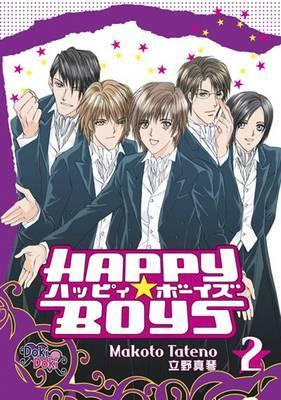 Happy Boys Volume 2 by Makoto Tateno