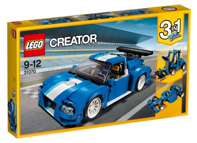 LEGO Creator - Turbo Track Racer (31070)