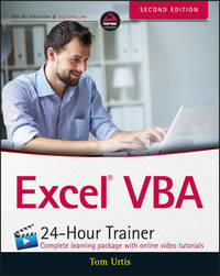 Excel VBA 24-Hour Trainer 2E by Tom Urtis