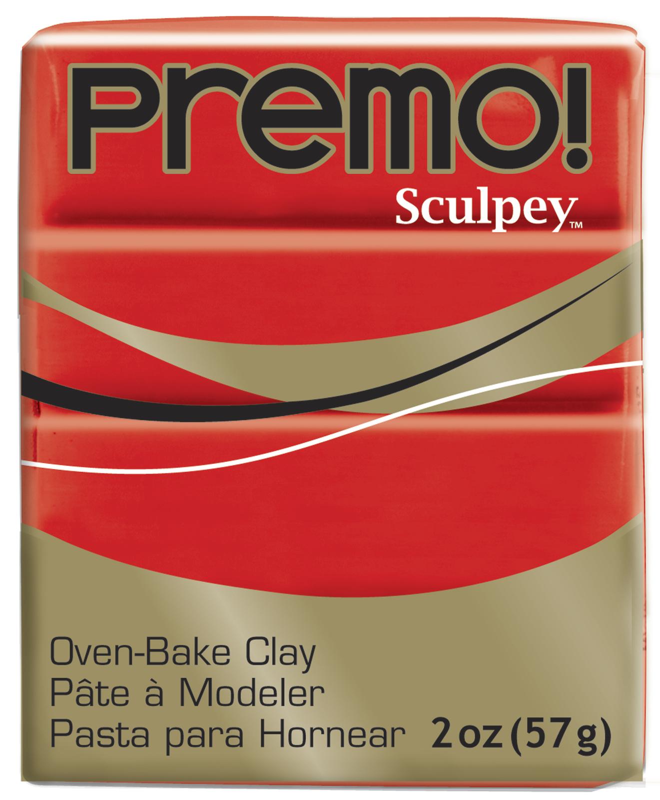 Sculpey Premo Cadmium Red Hue (57g) image