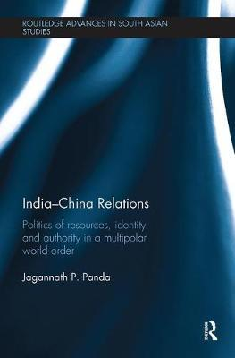 India-China Relations by Jagannath P. Panda image