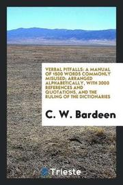 Verbal Pitfalls by C W Bardeen image