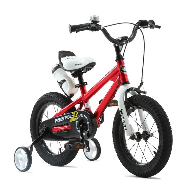 "RoyalBaby: BMX Freestyle - 14"" Bike (Red)"