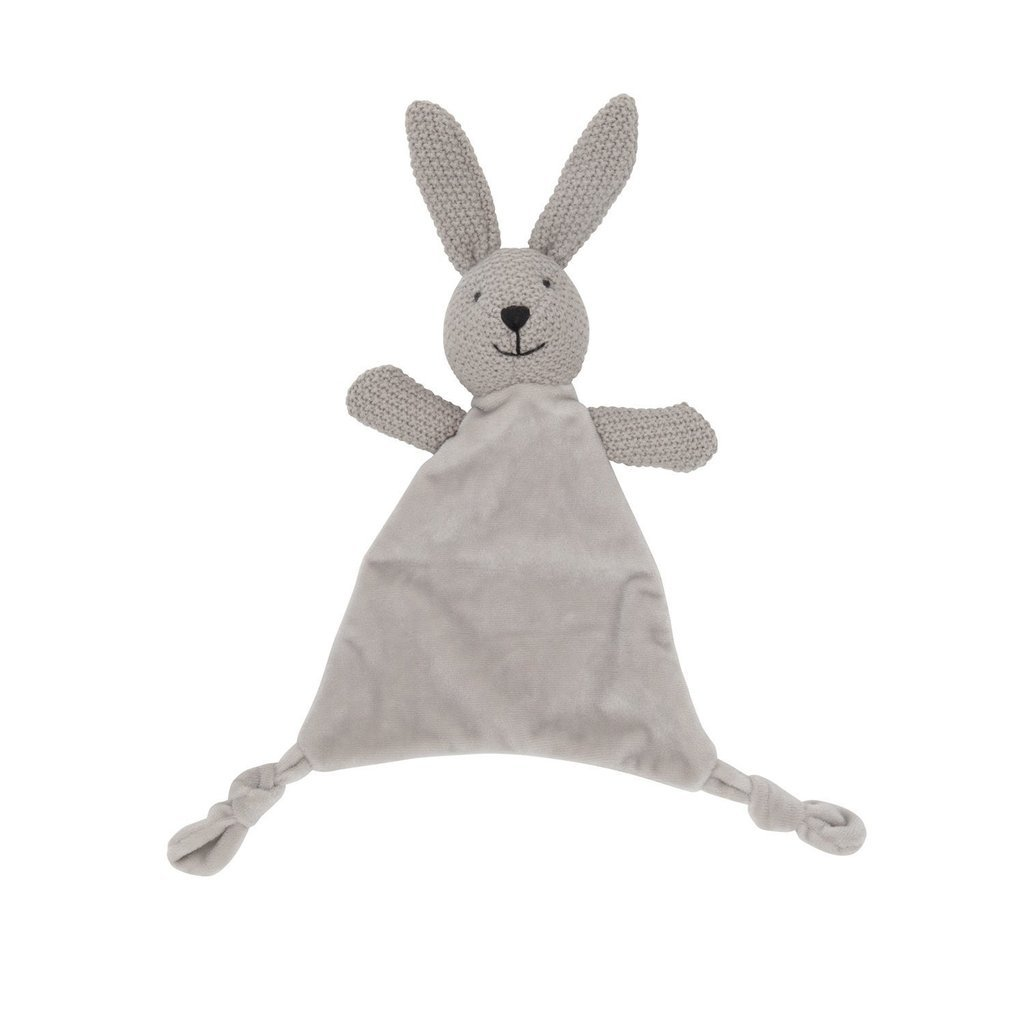 Lily & George: Wild Ones Bunny Comforter - Grey image
