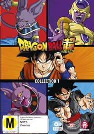 Dragon Ball Super Collection 1 on DVD