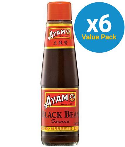 Ayam: Black Bean Sauce (6 x 210ml)