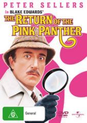 Return Of The Pink Panther on DVD