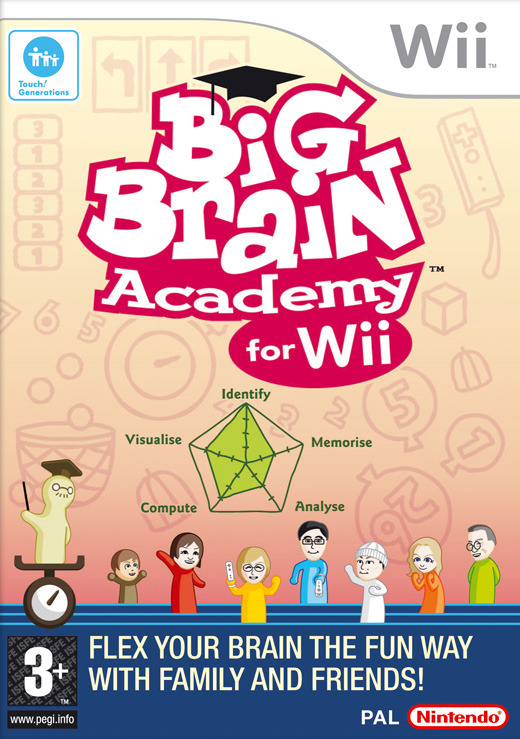 Big Brain Academy: for Wii for Nintendo Wii