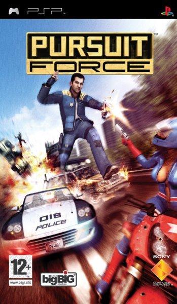 Pursuit Force (Essentials) for PSP