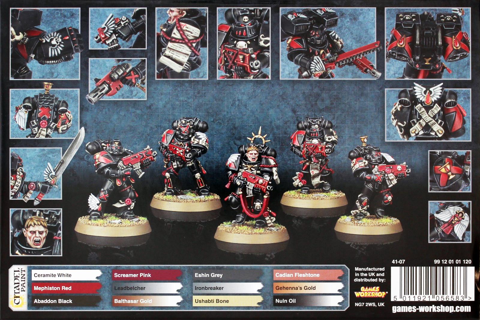 Warhammer 40,000 Blood Angels Death Company image