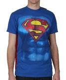 Superman - Shield Cape T-Shirt (XXL)
