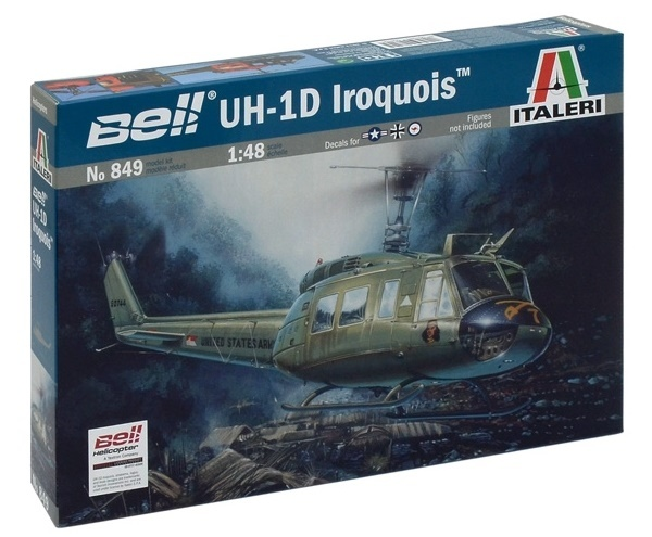 Italeri: 1:48 RNZAF UH-1D Iroquois - Model Kit