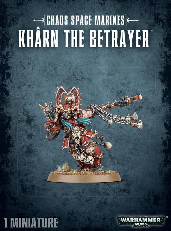 Warhammer 40,000 Kharn the Betrayer
