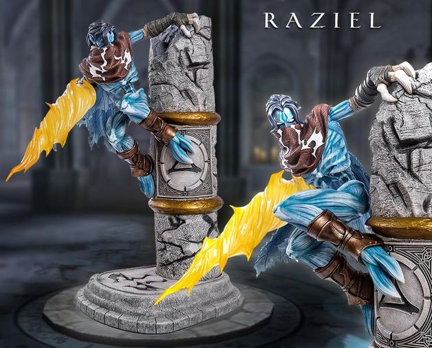 Legacy of Kain: Soul Rever 2 - Raziel Statue