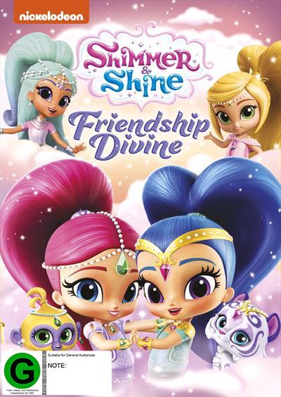 Shimmer & Shine: Friendship Devine on DVD