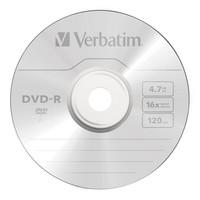 Verbatim DVD-R 4.7GB Spindle 16x (25 Pack) image