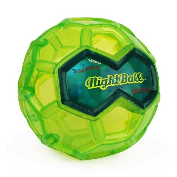 Britz 'n Pieces: Nightball Soccer Ball - Green