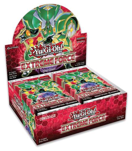 Yu-Gi-Oh! Extreme Force Booster Box image