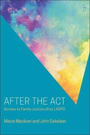 After the Act by Mavis Maclean