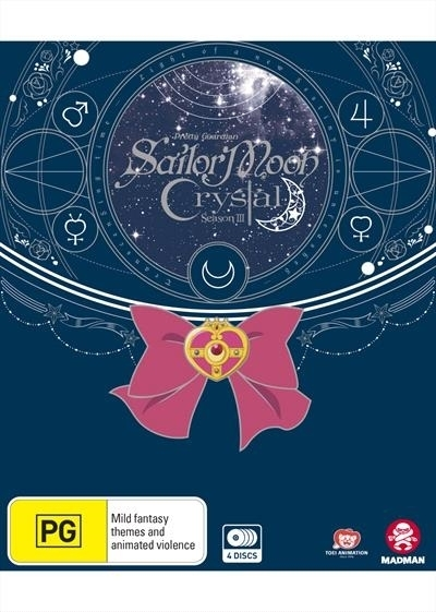 Sailor Moon: Crystal - Set 3 (Eps 27-39) - [Limited Edition] on Blu-ray image