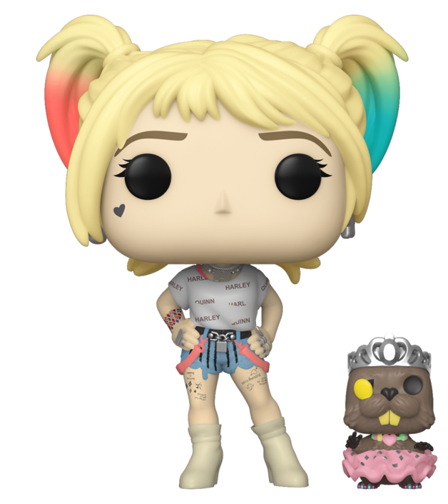 Birds of Prey - Harley (with Beaver) Pop! Vinyl Figure