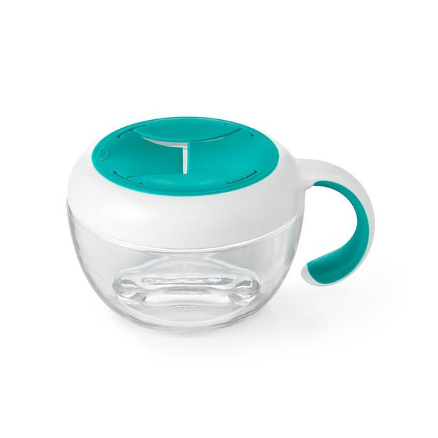 OXO Tot: Flippy Snack Cup w/Travel Cover - Teal