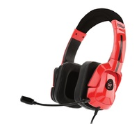 Gorilla Gaming PRO Universal Headset (Red) for Switch, PC, PS4, Xbox One