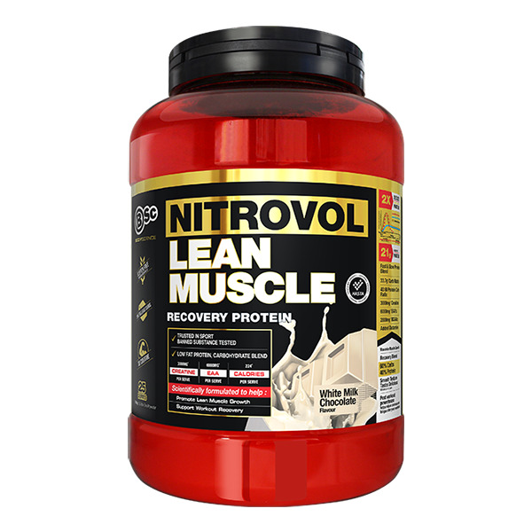 BSc Bodyscience NITROVOL Lean Muscle - White Milk Chocolate (1.5kg) image