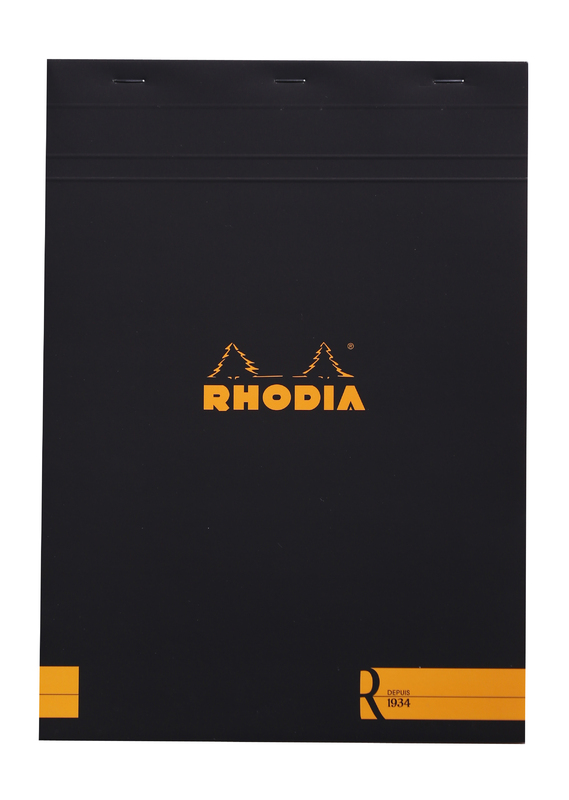 R by Rhodia with Cream Paper Black A4 - Lined