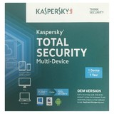 Kaspersky Total Security Multi Device OEM For 1 Device - 1 Year License