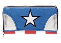 Marvel: Captain America Zip Wallet