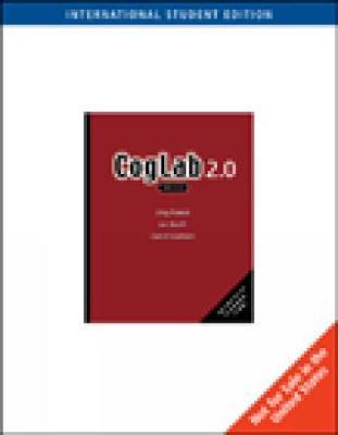 Coglab on a CD Version 2.0 by Greg Francis