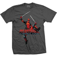 Deadpool Logo Jump - Grey (Small) image