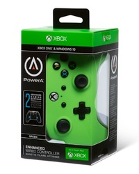 Xbox One Enhanced Wired Controller - Green for Xbox One image
