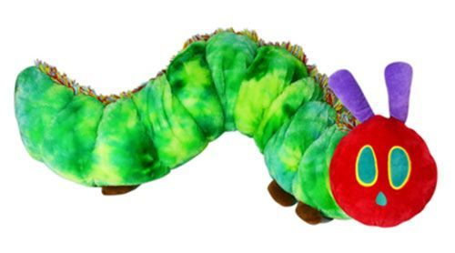 Eric Carle: Very Hungry Caterpillar Large Plush - With Sound image