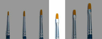 Italeri Synthetic Flat Brush 1