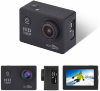 Ape Basics 1080P Waterproof Action Camera - Black image