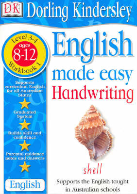 English Made Easy: Handwriting: Level 3-4, Workbook 1 by Dorling Kindersley image