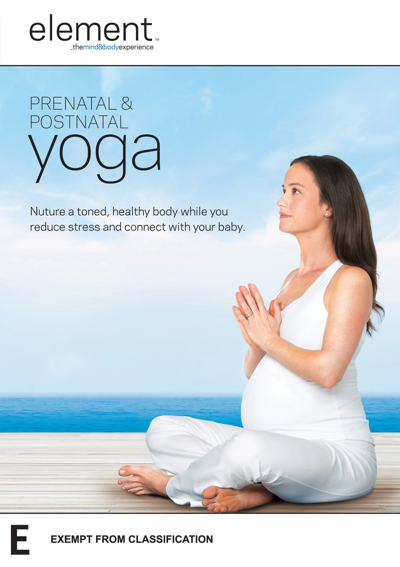 Element: Prenatal & Postnatal Yoga on DVD image