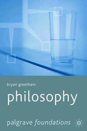 Philosophy by Bryan Greetham image