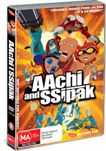 Aachi And Ssipak on DVD