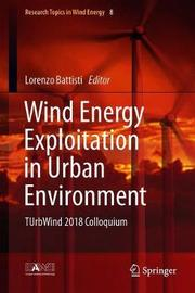 Wind Energy Exploitation in Urban Environment