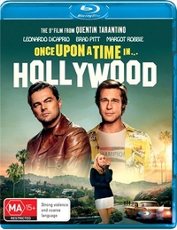 Once Upon a Time in Hollywood on Blu-ray