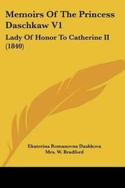 memoirs of princess dashkova