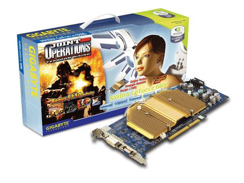 Gigabyte Graphics Card NVIDIA GeForce 6800 128M AGP