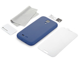 Simplism Silicone Case for Galaxy S4 (Navy Blue)