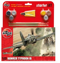 Airfix Hawker Typhoon IB Starter Set 1/72 Model Kit