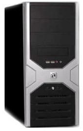 MEC GH501 Midtower Black/Silver No PSU